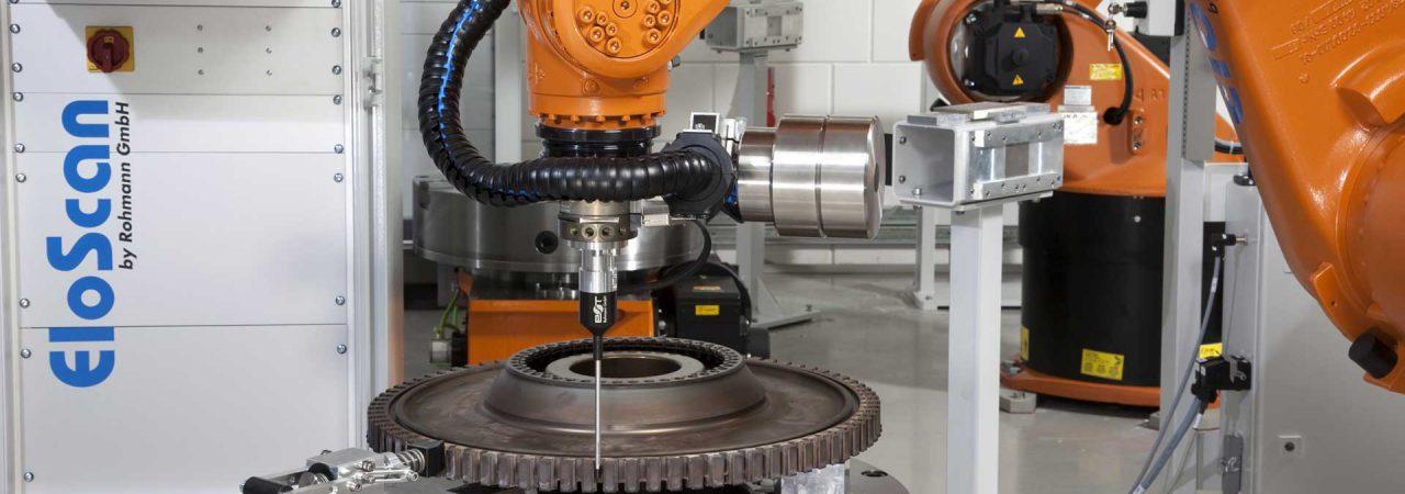 航空機エンジン部品ホイール全自動渦流探傷装置EloScan