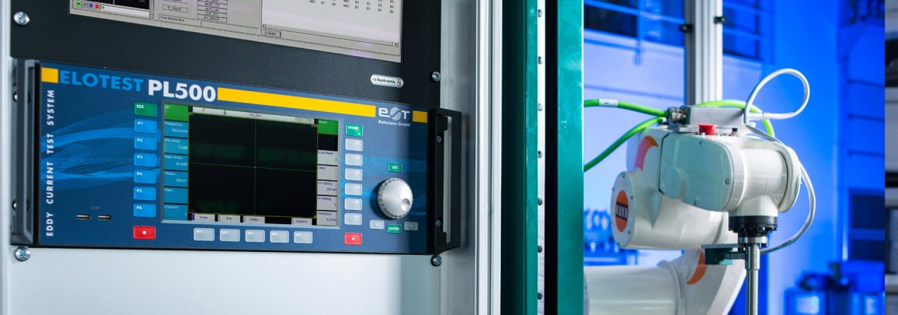 自動渦流探傷装置PL500