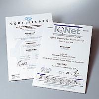 ISO9001認証(ドイツ・ローマン社)_1